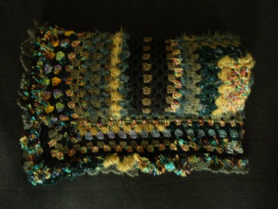 The Green Jewel Lapghan. by LynTheobaldCraft on Etsy