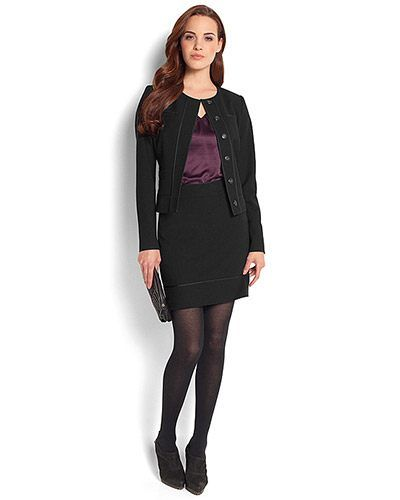Business clothes for young women