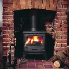 Gallery Multi Fuel Stoves | Buy 6KW Tiger Multi Fuel Stove Online | UK Stoves