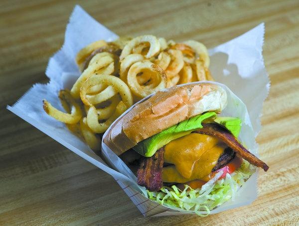 Bacon Burger at Hoagies (Avila Hot Springs)