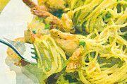 """New artwork for sale! - """" Pasta Shrimp Restaurant If Olive  by PixBreak Art """" - http://ift.tt/2m0amR2"""