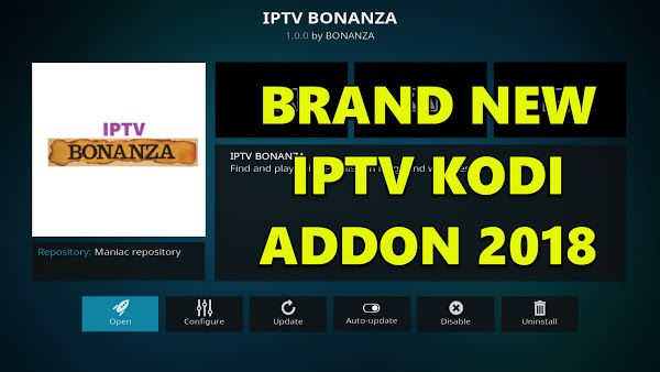 LIVE TV ADDON MARCH 2018 - ALL WORLD IPTV - USA & UK TV CHANNELS