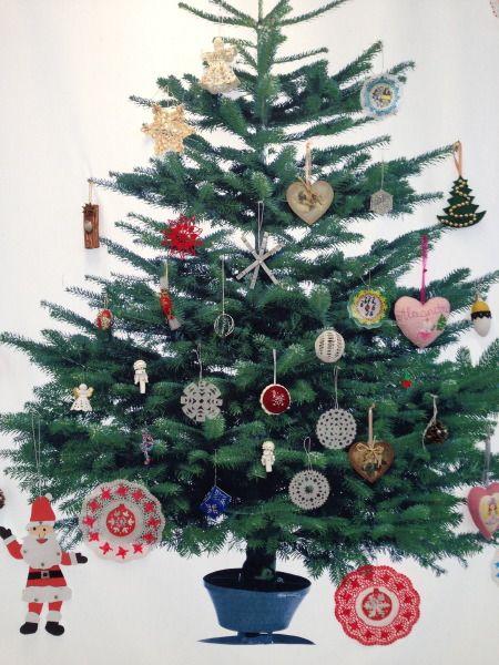 Karácsonyfadíszek házilag