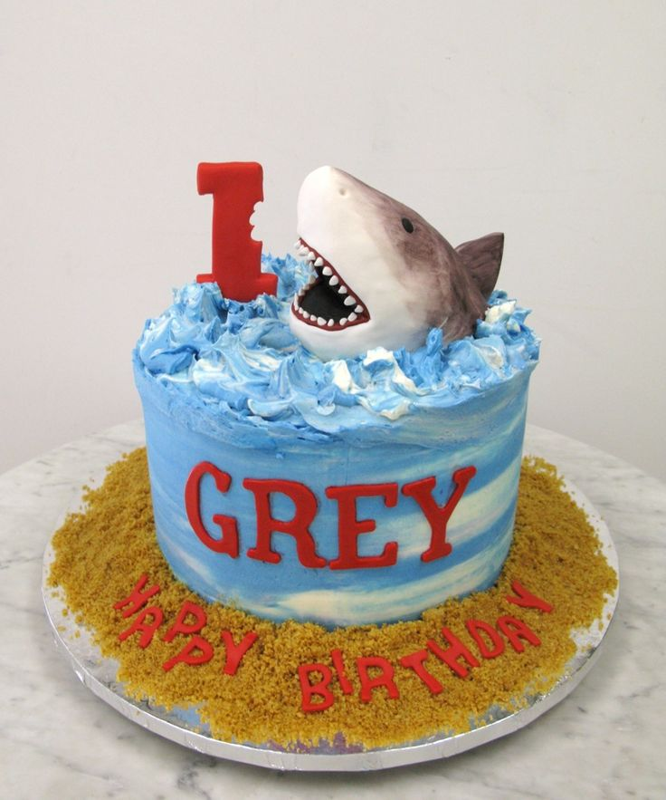 33 Best Shark Pool Party Images On Pinterest Birthdays Cooking