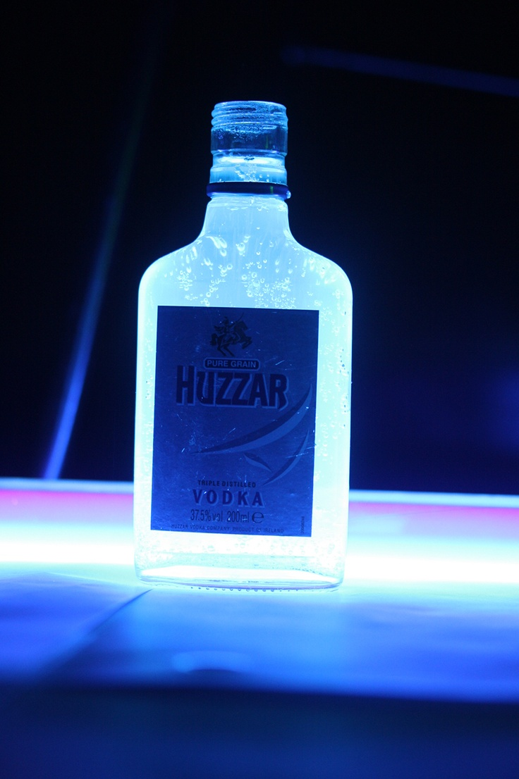 #7 Huzzar Vodka Bottle Dark Room