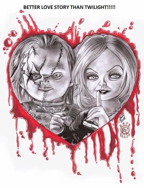 Chucky And Tiffany Mad Love Pinterest Twilight