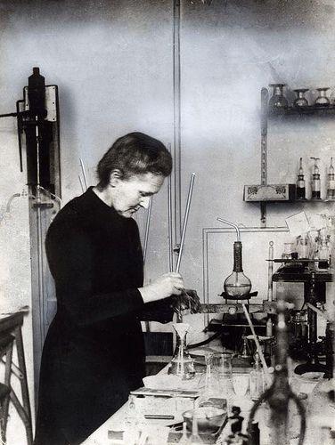 Nobelprijswinnaar Marie Curie / Nobel price winner Marie Curie