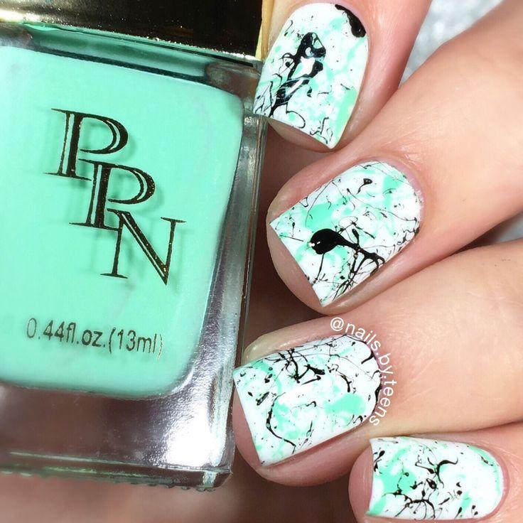 Splatter nails - The 25+ Best Teen Nail Designs Ideas On Pinterest Teen Nails