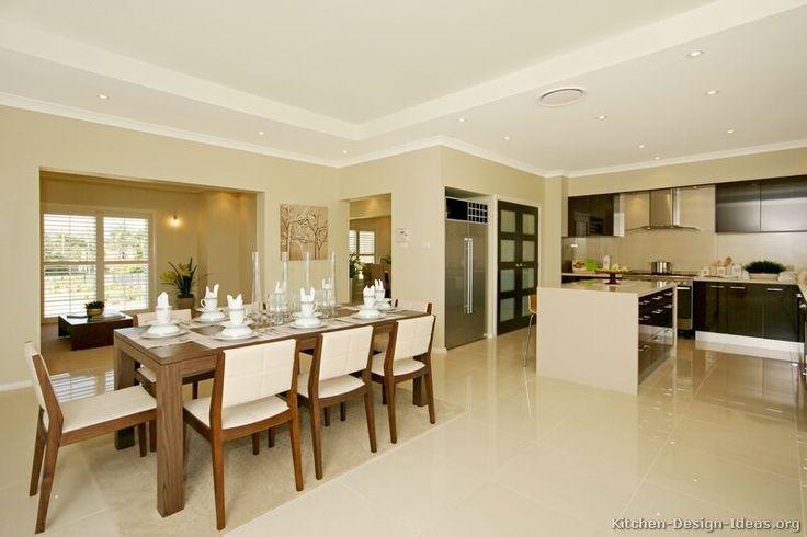 158 best Open Plan Kitchens images on Pinterest   Kitchens, Kitchen ...