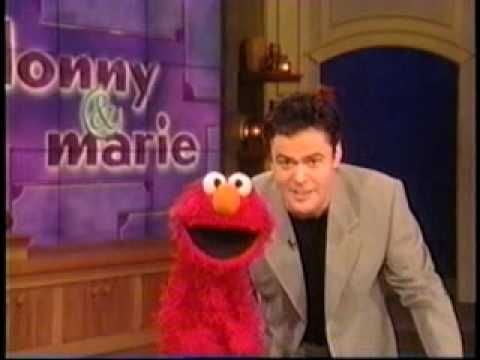 Elmo Sings With Donny Osmond