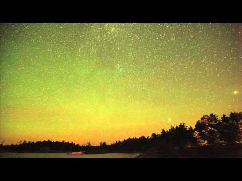 My first attempt at time lapse. The stars in Georgian Bay.