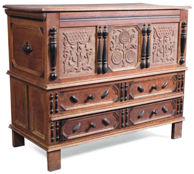 Early American Furniture Characteristics: Jacobean Revival Images On Pinterest