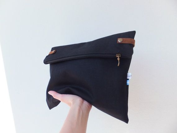 Fold over clutch / Man clutch / Carry all pouch / Cool by Liduvina