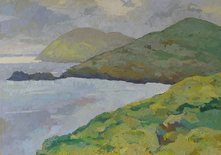 irish westcoast - 70x50cm - oil