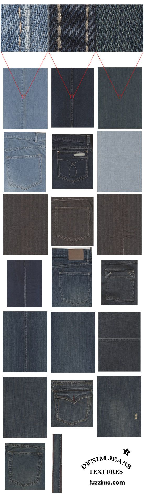 more jeans textures