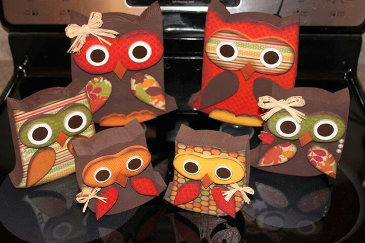 What craft decoupage owl cute fall crafts fall for Fall diy crafts pinterest