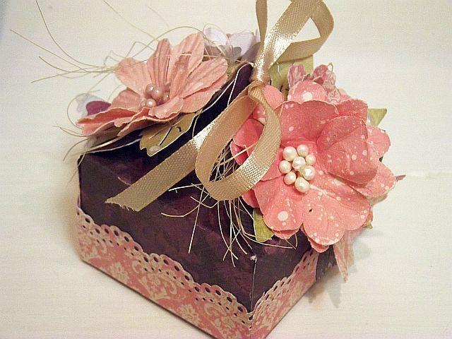 Kreatywny blog Koczes: 105 - Pudełko na słodkości