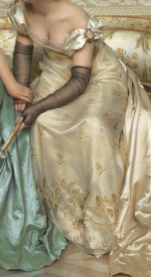 hoopskirtsociety: Joseph Frederic Charles Soulacroix - Secrets – detail