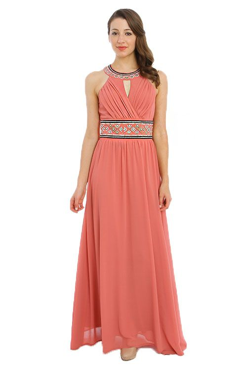 Union of angels ginger maxi dress