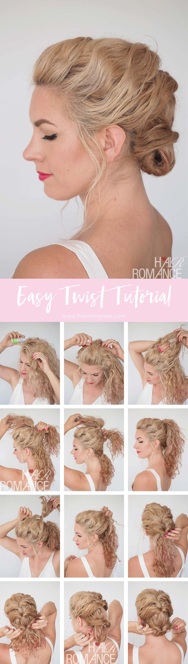 Quick and easy twist hairstyle tutorial – Get great hair fast