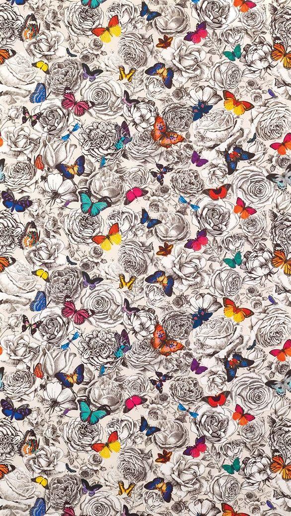 Osborne & Little Butterfly Garden  www.limechandelier.com