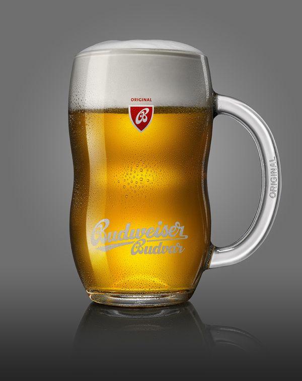 Budweiser Budvar / New glass by Playground , via Behance