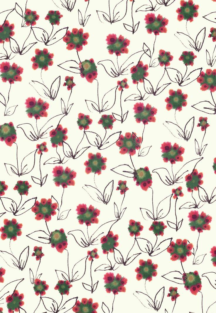Watercolour daisies Original artwork