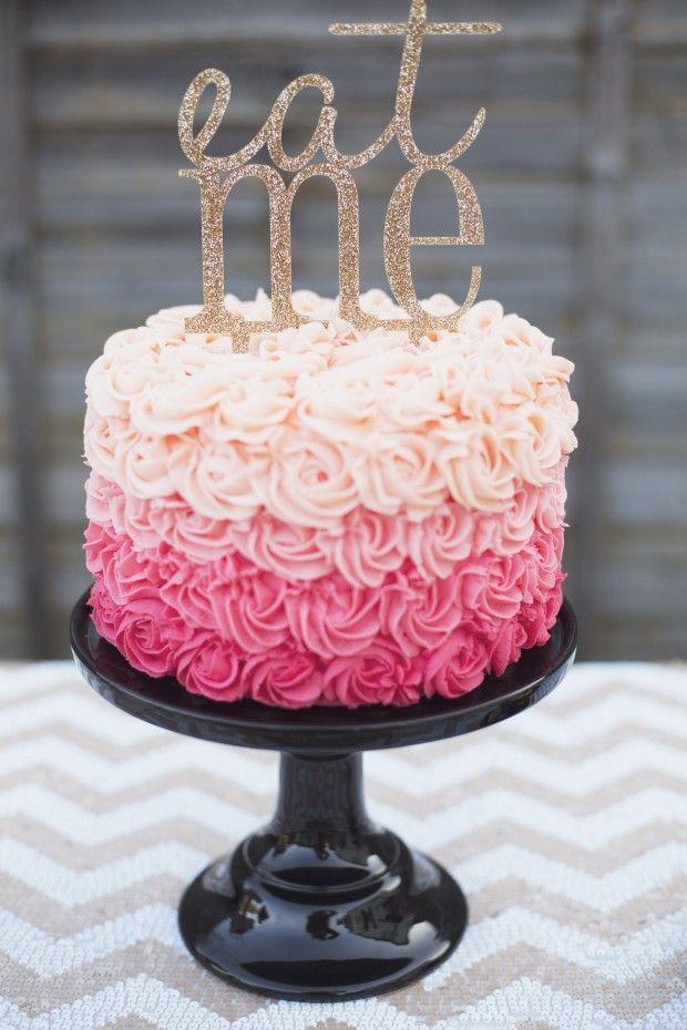 Pink + Gold Valentine's Day Celebration Inspiration
