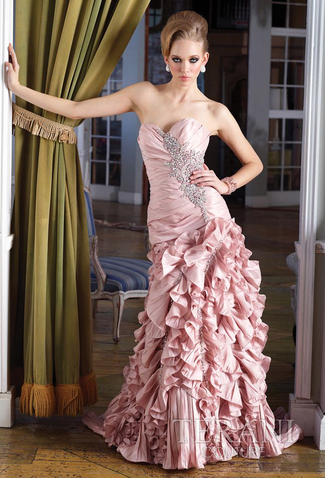 Terani Couture Evening Dresses Sweetheart Evening Dress Mother Of The Bride Dresses Couture Evening Dress Customized to fit every woman. pinterest