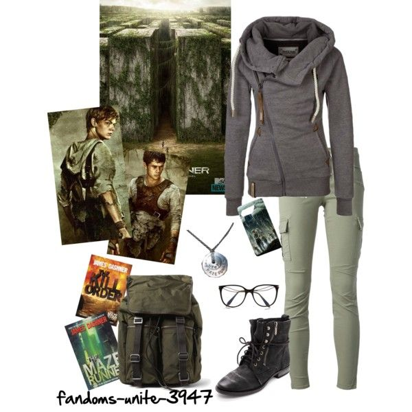 """Maze Runner Nerd"" by fandoms-unite-3947 on Polyvore"