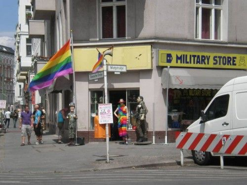 Military Store - Gay military shop for everything from military uniforms, leather to army boots. Military Surplus, Second-Hand Clothing, Leather