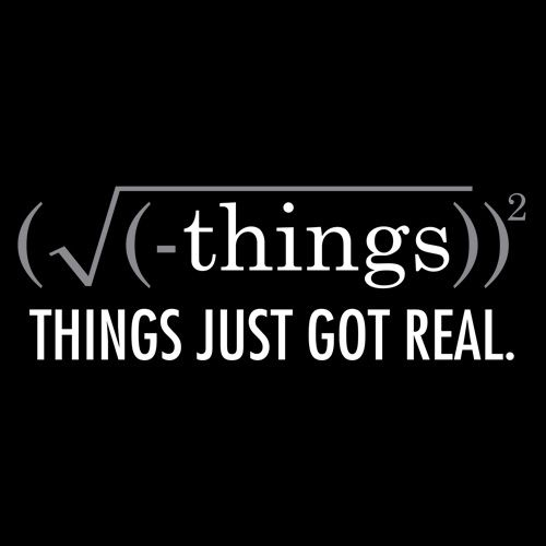 THINGS JUST GOT REAL T-SHIRT