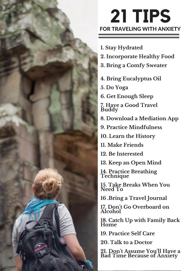 how to get over anxiety of traveling