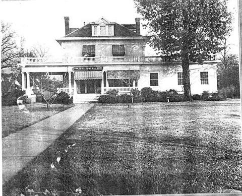 The old Frazer's Funeral Home in Warren, Arkansas, was the inspiration for the Riley home in Ashes and Bone. #history #oldhouses #books http://stacy-green.com/books/