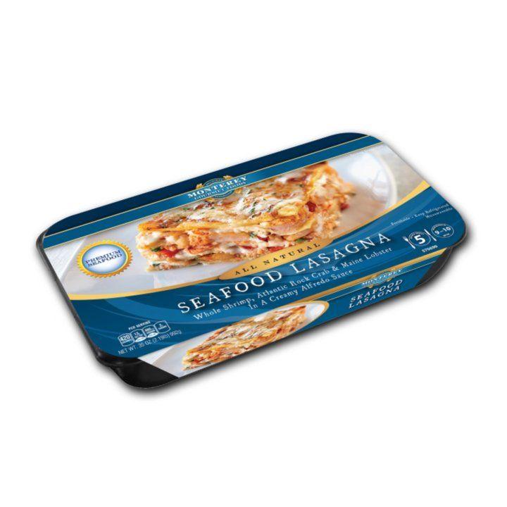 Sam's Club - Monterey Gourmet Foods Seafood Lasagna (35 oz.)