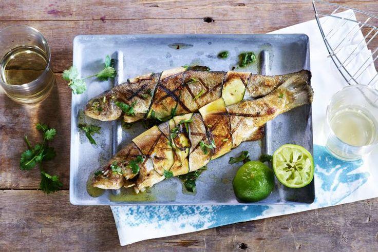 Catch of the day! Een heerlijk visje voor op de barbecue vanavond - Recept - Allerhande