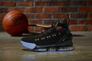 Mens HFR x Wmns LeBron 16 Nike Black