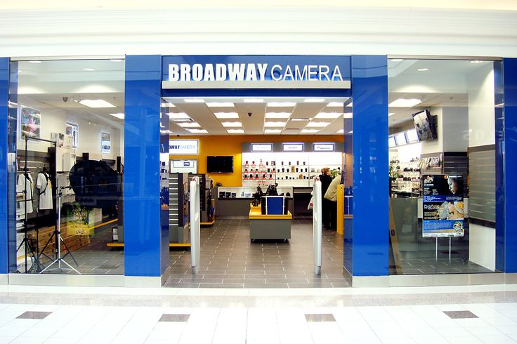Find lots ot cameras and techie gifts dad will love at Broadway Camera at Central City.
