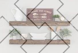 Creative and Modern Ideas: Easy Floating Shelf How…