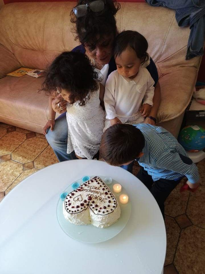 Gâteau forêt noire pour ma tante