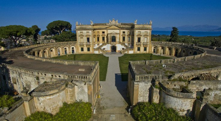 Villa Valguarnera, the villa that inspired Tornatore director to create Dolce and Gabbana's spot. Idealfor anyone who loves art, beauty and culture