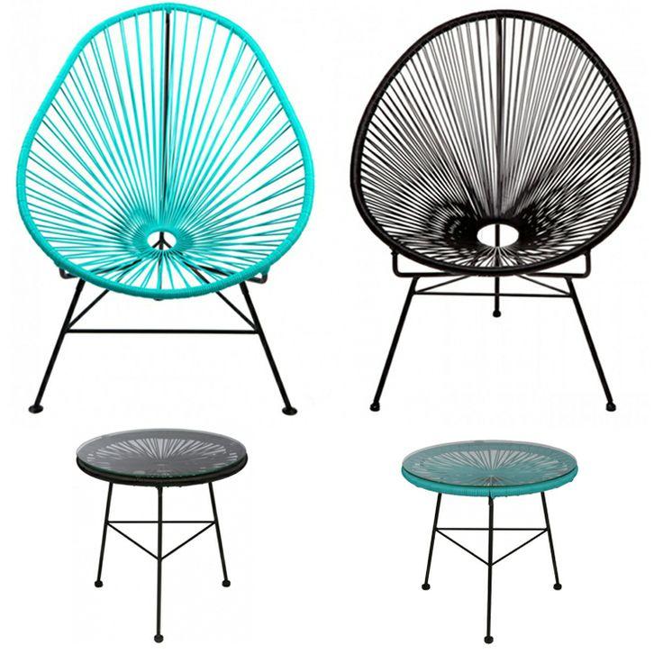 Lovely furnitures for outside and inside use. http://www.landromantikk.no/mobler/bord-stoler.html