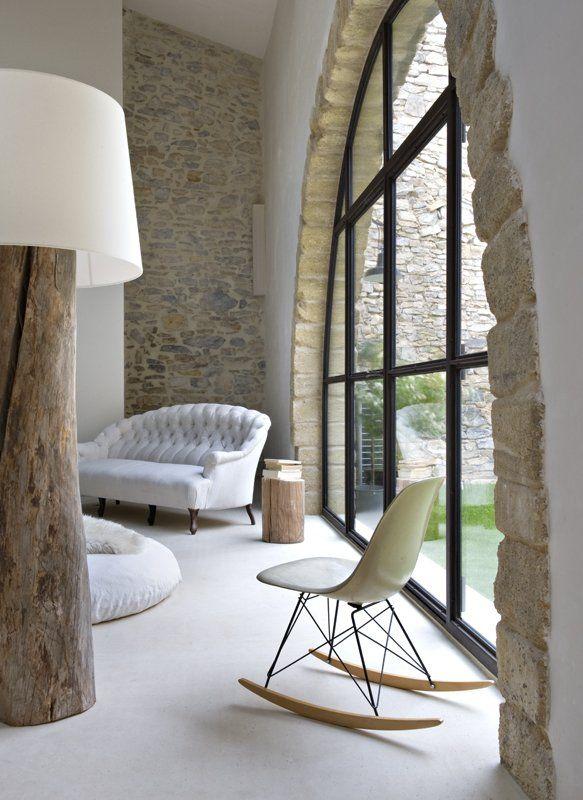 A modern country house - Magnífica casa de campo de paredes de piedra