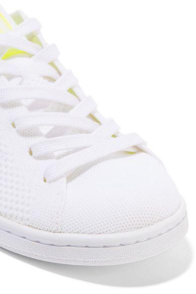 adidas Originals - Stan Smith Boost Primeknit Sneakers - White - US9.5