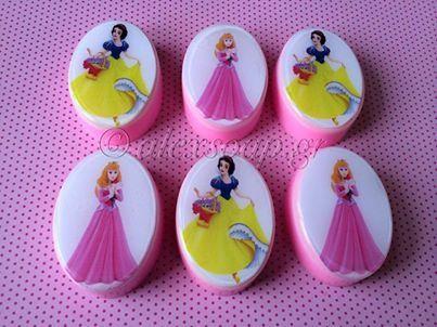 Σαπουνάκια με Πριγκίπισσες