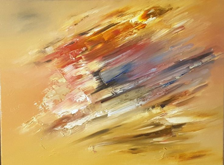 Buy Ochre Skies, Oil painting by Scott Maxwell Art on Artfinder. Discover thousands of other original paintings, prints, sculptures and photography from independent artists.