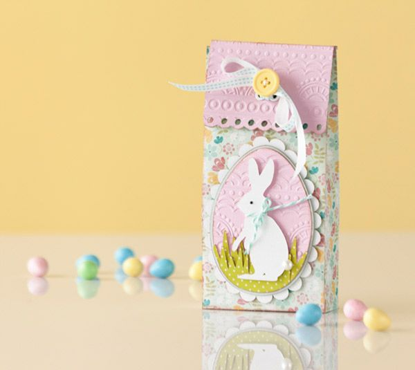 256 best treat boxesbags easter images on pinterest cookie project center easter treat bag negle Images
