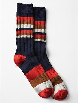 Variegated stripe socks | Gap