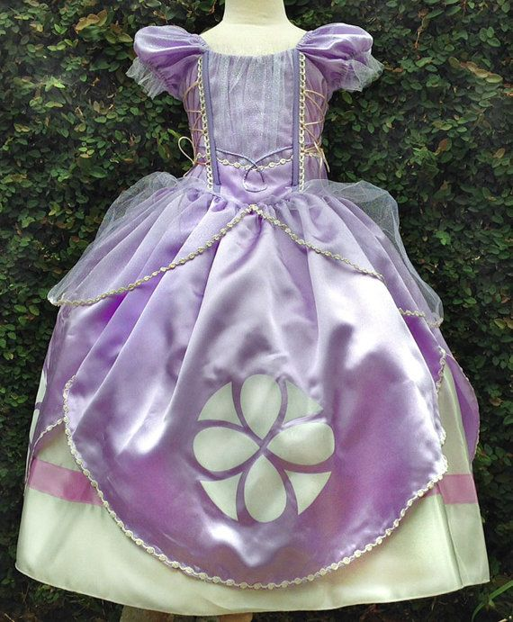Sofia the First Princess Dress by CNLChildrensApparel on Etsy