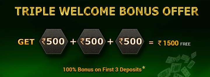 At Classic Rummy you can enjoy 100% Rummy Welcome Bonus for the first time you deposit cash to play rummy cards games. play Rummy online 24x7 at Classic Rummy with Cash bonuses, Coupon Codes and many other special offers.